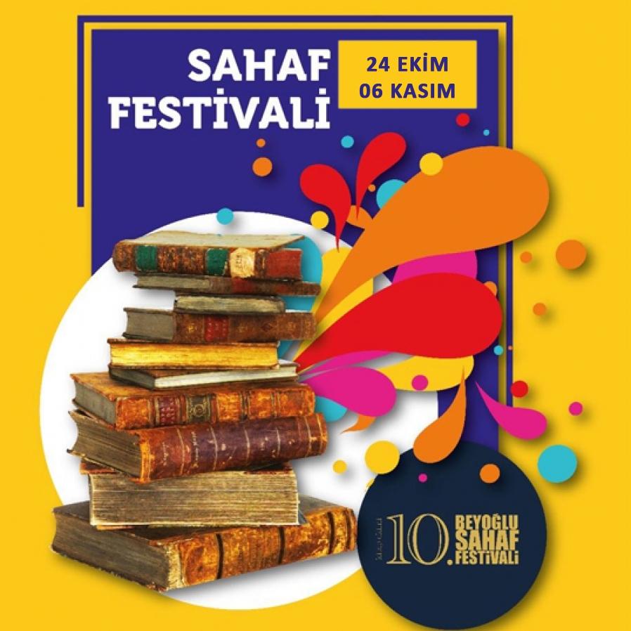 10. Sahaf Festivali 24 Ekim-06 Kasım'da Taksim'de