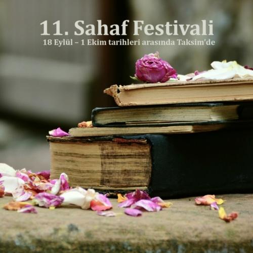 11. Sahaf Festivali 18 Eylül – 1 Ekim arasında Taksim'de