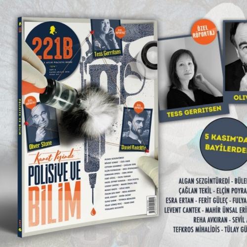 221B Dergi, 6.sayısıyla olay yerinde 1.yılını dolduruyor!