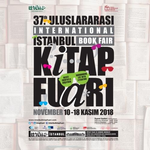 37. Uluslararası İstanbul Kitap Fuarı Etkinlik Programı Açıklandı