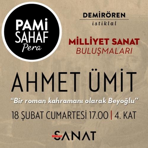 Ahmet Ümit 'Bir Roman Kahramanı Olarak Beyoğlu' Etkinliğinde Okuyucularla Buluşuyor