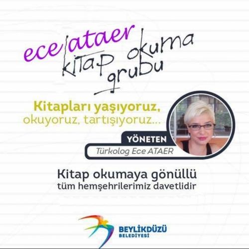 Beylikdüzü Belediyesi Ece Ataer Kitap Okuma Grubu 27 Ekim'de başlıyor.