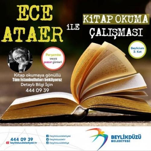 Beylikdüzü Belediyesi Ece Ataer Kitap Okuma Grubu Çalışmalarına başladı.