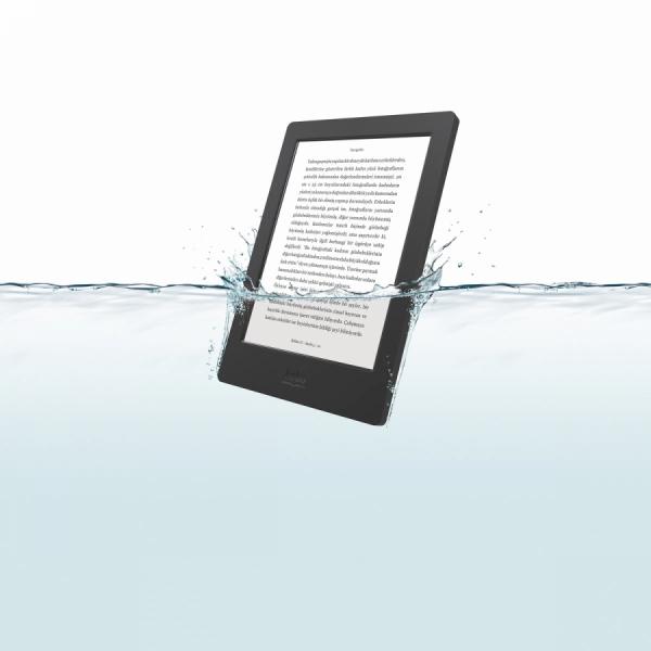 Bu yazın favorisi su geçirmeyen e-kitap: Kobo Aura H2O