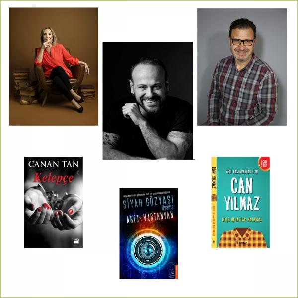 Canan Tan, Aret Vartanyan ve Can Yılmaz  D&R'da kitaplarını imzalayacak