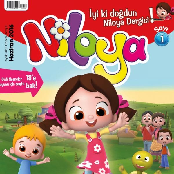 Çocukların Sevgilisi Niloya'nın Artık Bir Dergisi Var