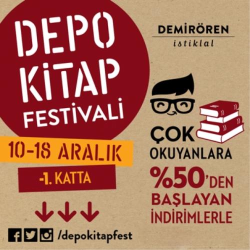 Depo Kitap Festivali Demirören İstiklal'de Başlıyor