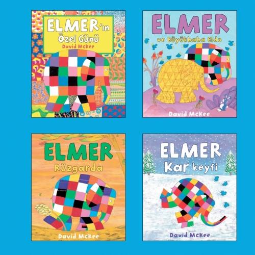 Dünyaca ünlü Elmer serisi artık Mikado Yayınları'nda