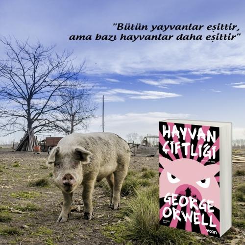 George Orwell'ın kaleminden bir peri masalı; Hayvan Çiftliği