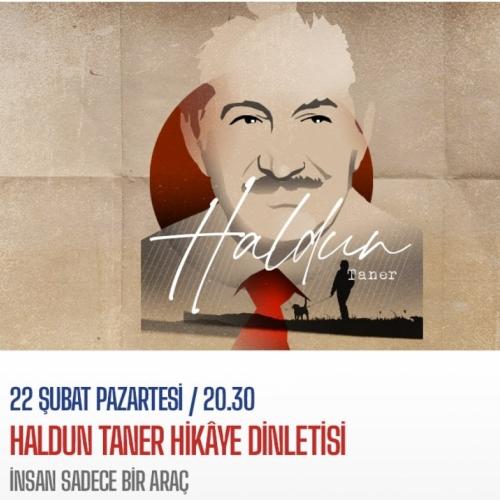 Haldun Taner Hikaye Dinletisi Bu Akşam 20.30'da İş Sanat'ın YouTube Kanalında Yayında