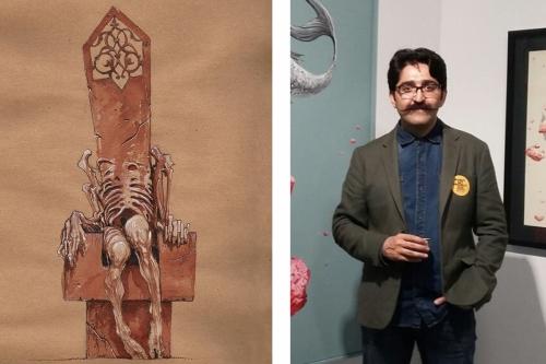 Hemad Javadzade'nin Türkiye' de ki ilk kişisel sergisi 'Yersiz Zaman' 10 Şubat' ta Galeri Diani'de açılıyor.
