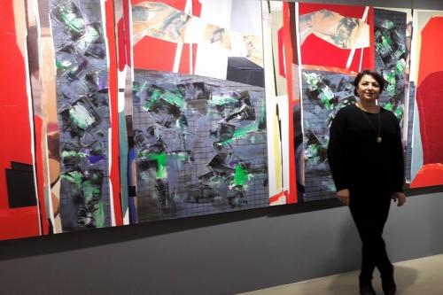 Zeynep Dilek ve Mehmet Çetiner çiftinin 'Özet' adlı sergisi 10- 31 Mart tarihleri arasında Galeri Diani'de!