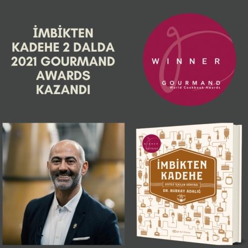 'İmbikten Kadehe' 2021 Gourmand Awards Wiınners Listesinde