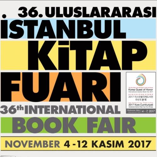 İstanbul Kitap Fuarı, 4 Kasım 2017 Cumartesi günü 36. kez kapılarını açmaya hazırlanıyor