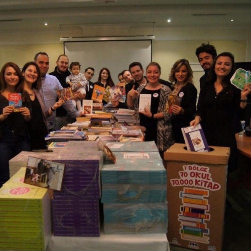 JCI Kadıköy, 70.000 adet kitap toplamak için yola koyuldu