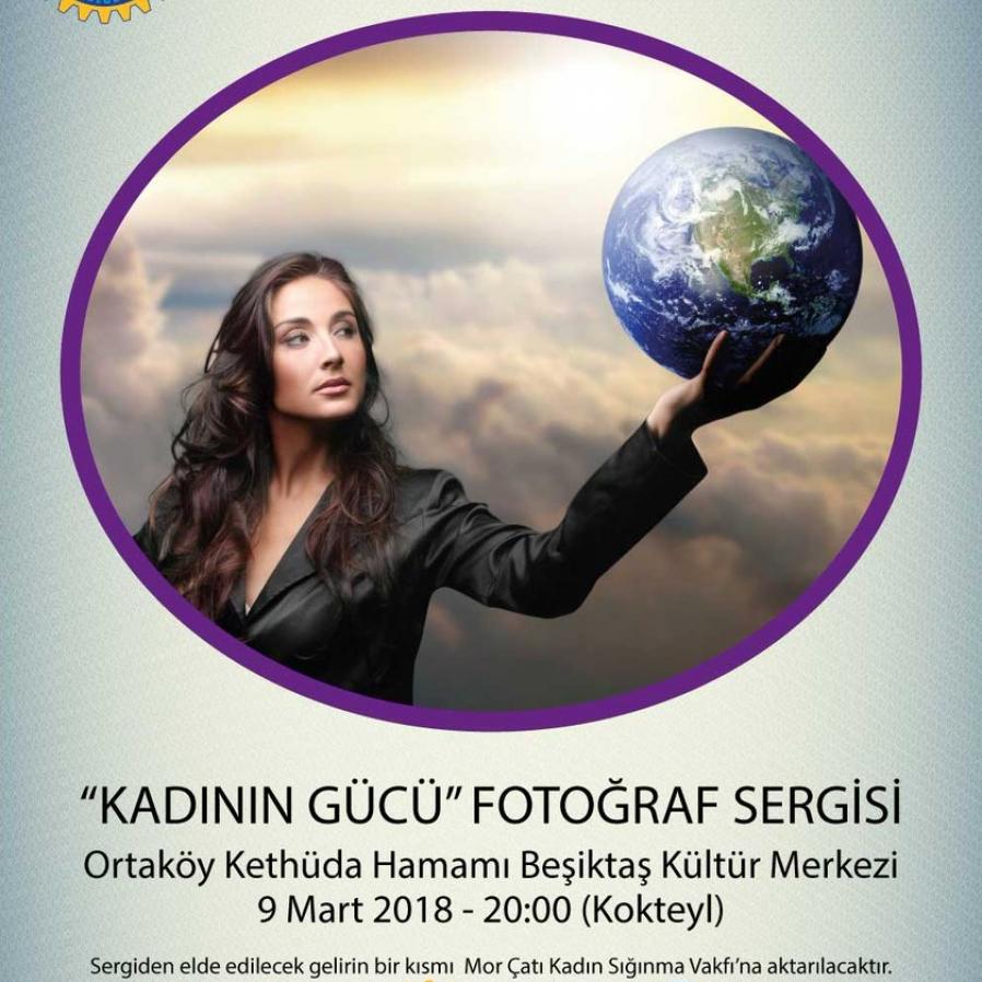 'Kadının Gücü' Fotoğraf Sergisi 9 Mart'ta açılıyor