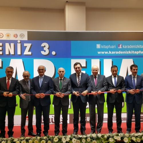Karadeniz 3. Kitap Fuarı Açıldı