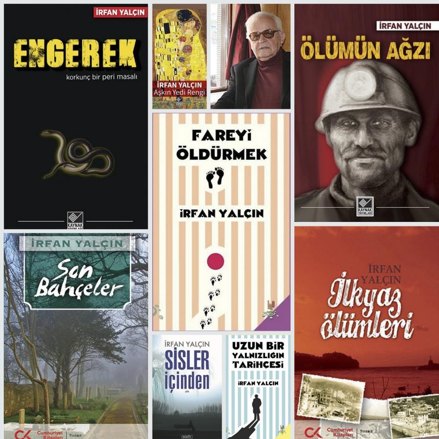 Kitapları tozlu raflarda kaybolmuş ödüllü bir yazar: İrfan Yalçın