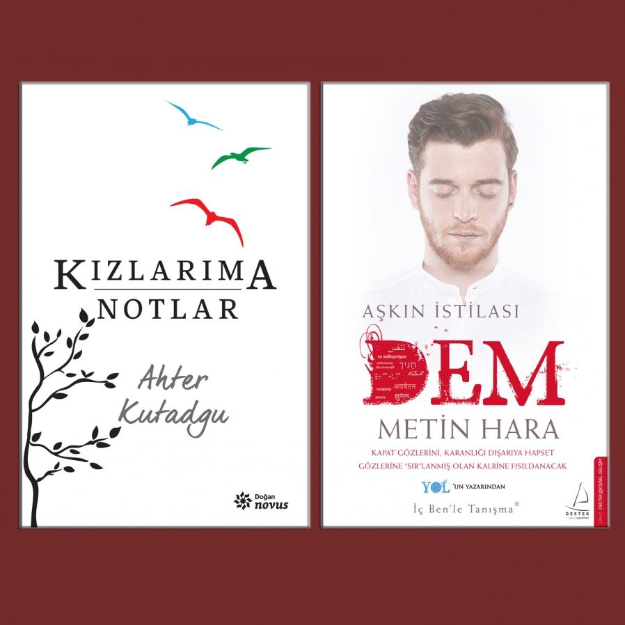 Metin Hara ve Ahter Kutadgu  bu hafta sonu D&R'larda kitaplarını imzalıyor