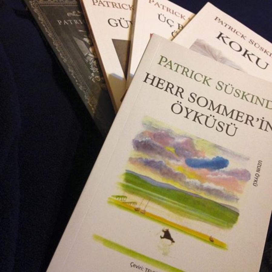 Patrick Süskind kitaplarından alıntılar.
