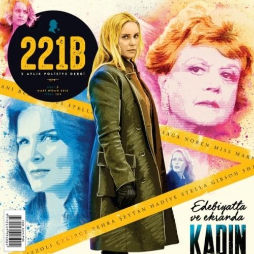 Polisiye Dergi 221B'nin 2.Sayısı Raflarda yerini aldı