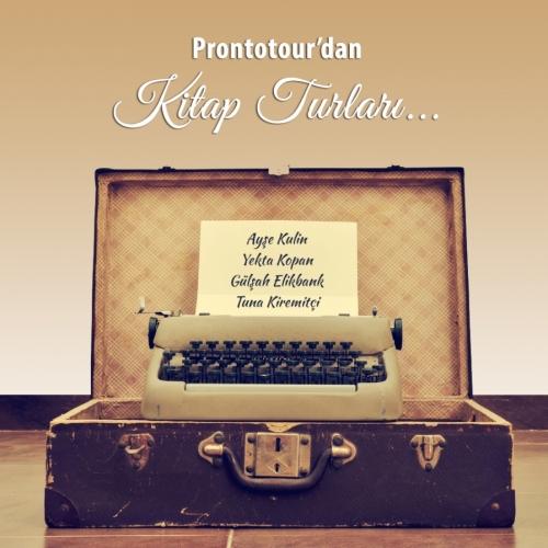 Prontotour, kitapsever gezginleri ünlü yazarlarla birlikte masalsı bir yolculuğa çıkarıyor...