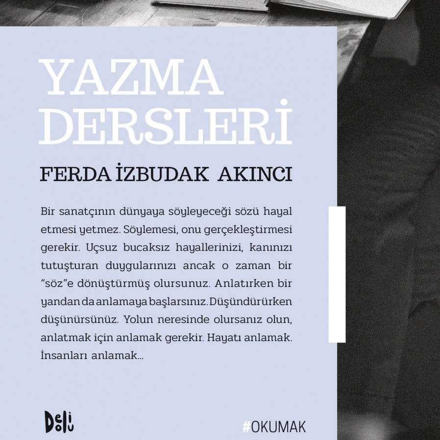 Yazar adaylarına kılavuzlık eden kitap